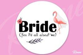 מדבקות מיתוג דגם BRIDE second image