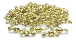 סוכריות יהלום עטיפה זהב