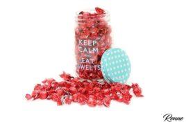 סוכריות יהלום עטיפה אדומה