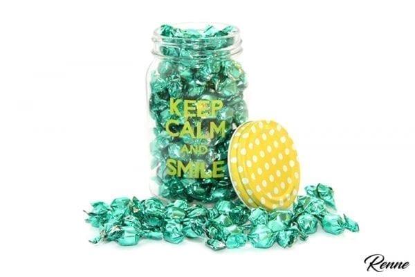 סוכריות יהלום עטיפה ירוקה