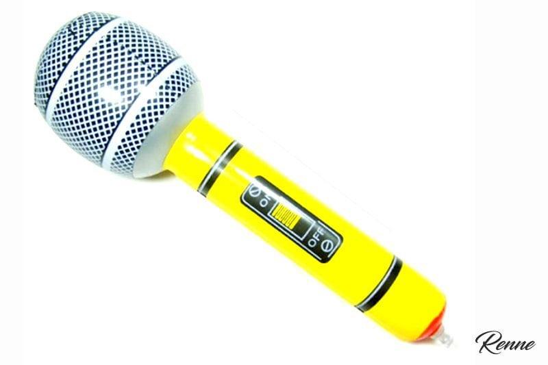 מיקרופון מתנפח ענק