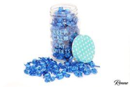 סוכריות יהלום עטיפה כחולה