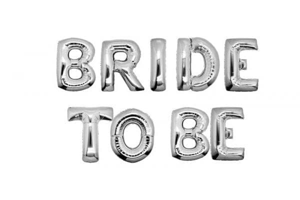 בלוני bride to be כסף