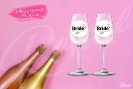 מדבקות מיתוג דגם BRIDE