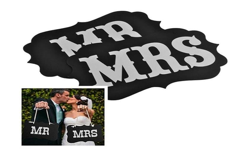 שלט MR&MRS