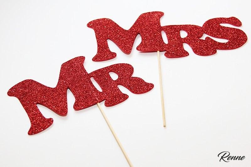 MR&MRS על מקל אדום