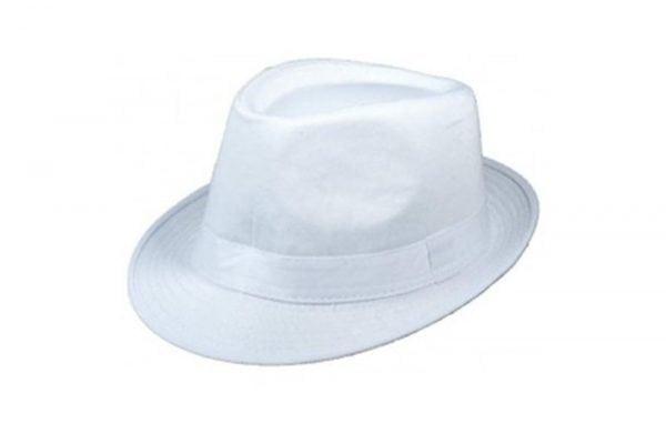 כובע ג'נטלמן לבן