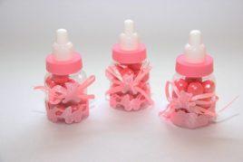 בקבוק תינוק ורוד למילוי
