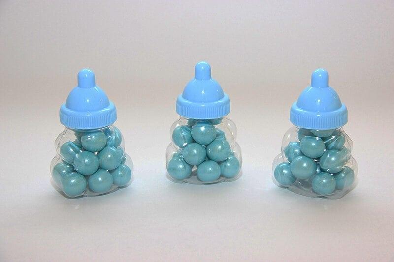 בקבוק תינוק מתוק כחול
