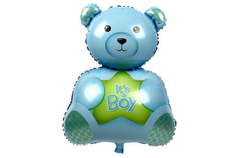 בלון דובי כחול