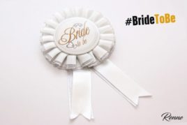 סיכת Bride to be