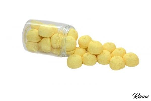 כדורי מרשמלו צהובים