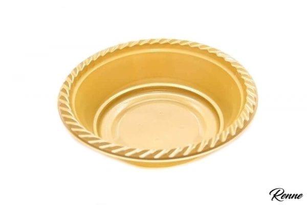 קערת הגשה בצבע זהב