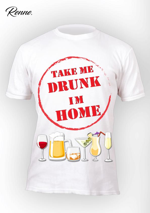 חולצה לחתונה Take me drunk