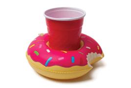 מחזיק כוסות לבריכה בעיצוב דונאט