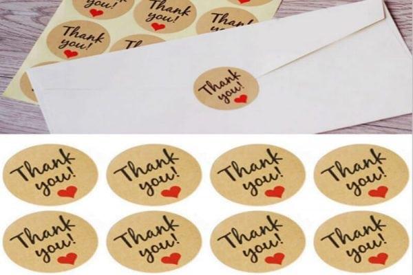 מדבקות למעטפות חתונה