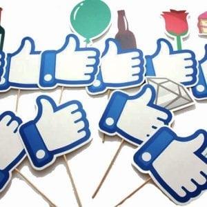 סט אביזרי צילום פייסבוק על מקל