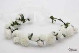 זר פרחים לבן מיוחד