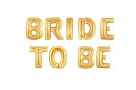 בלוני bride to be זהב