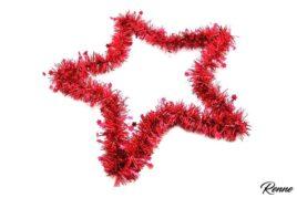 כוכב דקורטיבי אדום