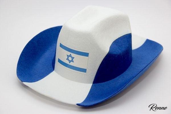 כובע קאובוי דגל ישראל