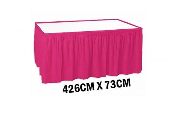 חצאית שולחן