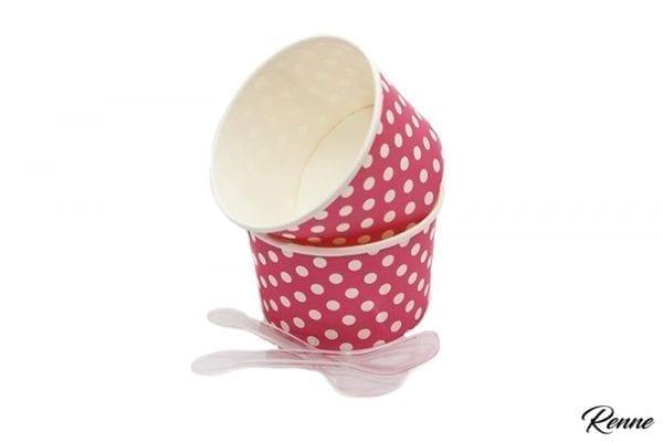 גביעי גלידה מעוצבים