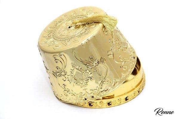 תרבוש זהב לעיצוב והגשה
