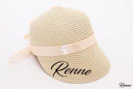 כובע קש מצחיה VINTAGE