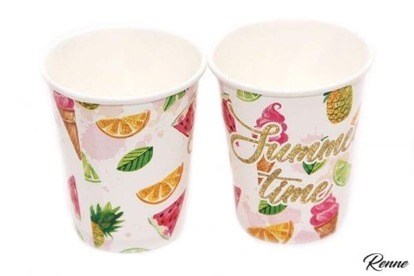 כוסות קיץ מעוצבות