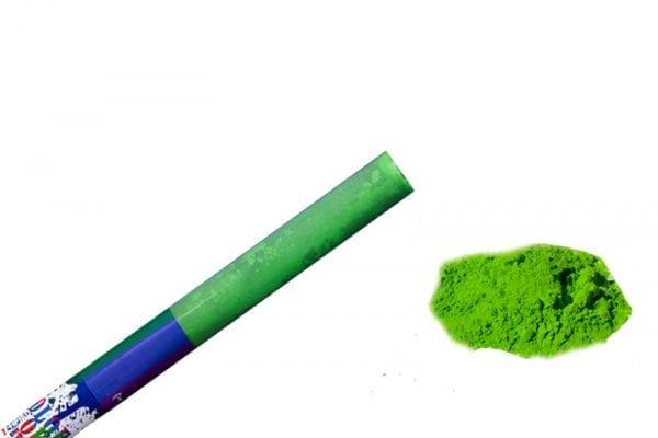 תותח אבקה בצבע ירוק