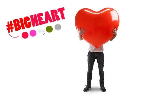 לב מתנפח ענק