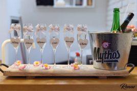 כוסות שמפניה ממותגות