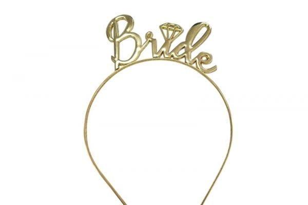 קשת Bride בצבע זהב
