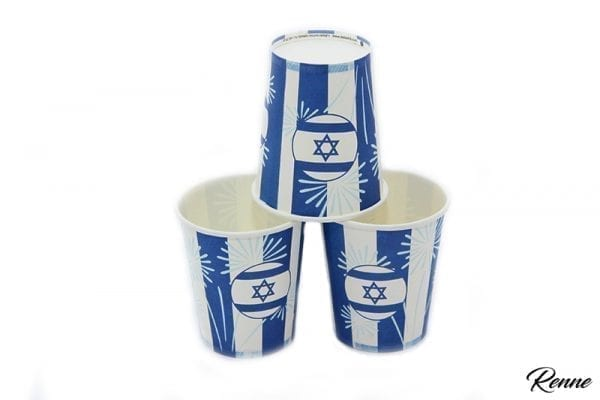 כוסות מעוצבות ליום העצמאות