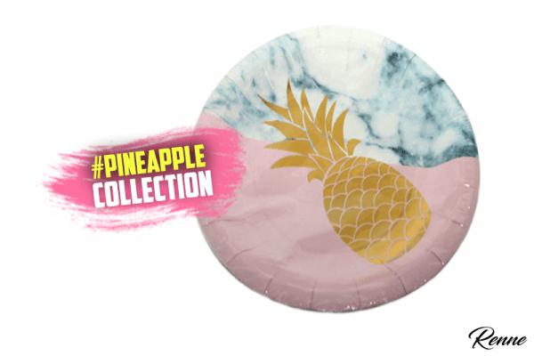 צלחות מעוצבות pineapple
