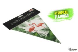 שרשרת דגלים פלמינגו מעוצבת