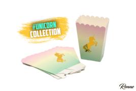 קופסאות פופקורן Unicorn