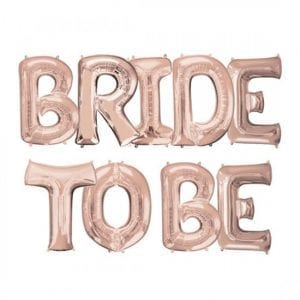 בלוני BRIDE TO BE
