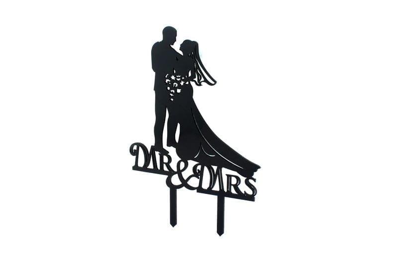 טופר Mr & Mrs שחור