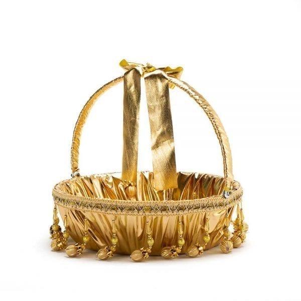 סלסלה דגם אלאדין זהב גדולה