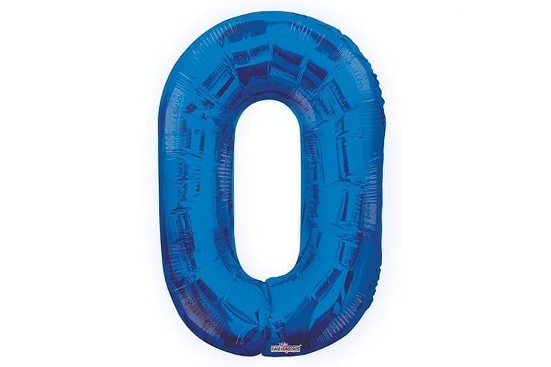 בלון סיפרה 0 כחול