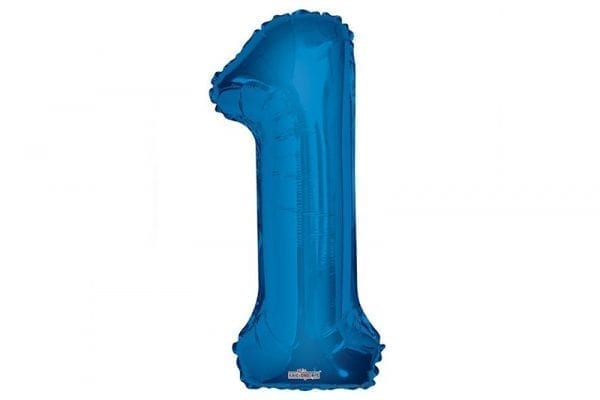 בלון סיפרה 1 כחול