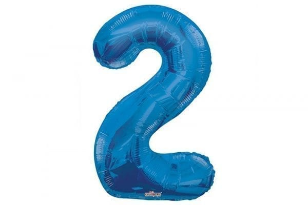 בלון סיפרה 2 כחול