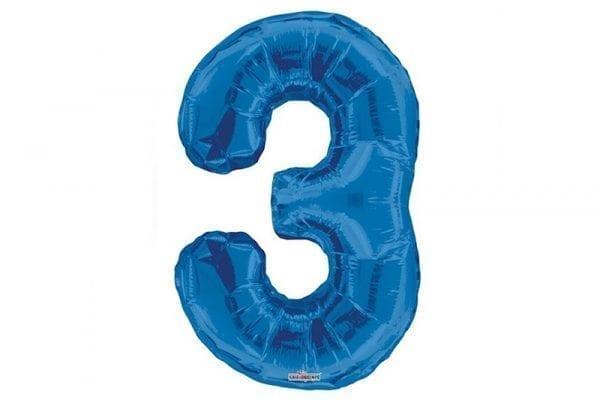 בלון סיפרה 3 כחול