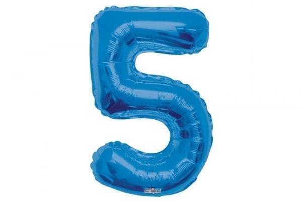 בלון סיפרה 5 כחול