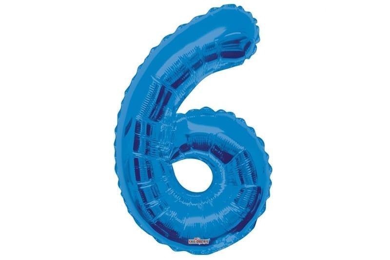 בלון סיפרה 6 כחול