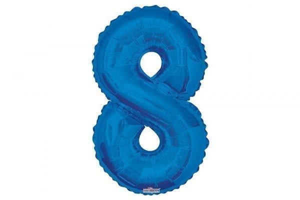 בלון סיפרה 8 כחול