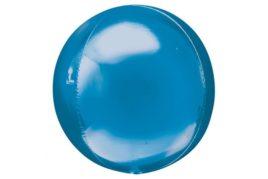 בלון מיילר עגול בועה בצבע כחול