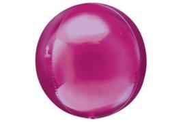 בלון מיילר עגול בועה בצבע ורוד